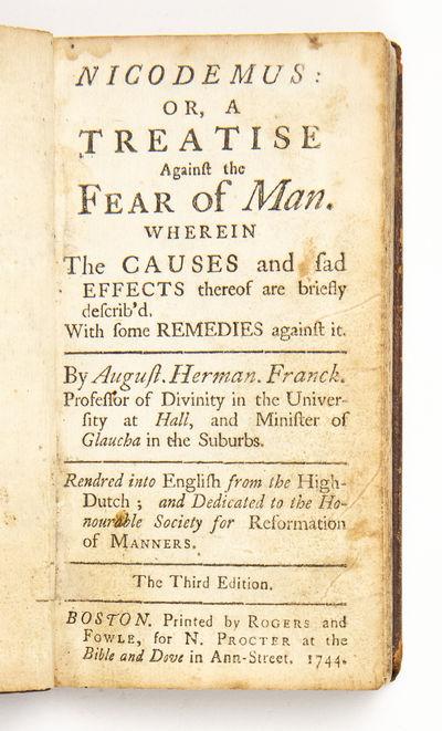 Nicodemus: or, A treatise against the...