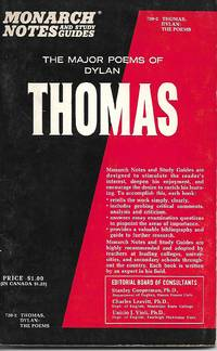 The Major Poems of Dylan Thomas (Monarch Notes)