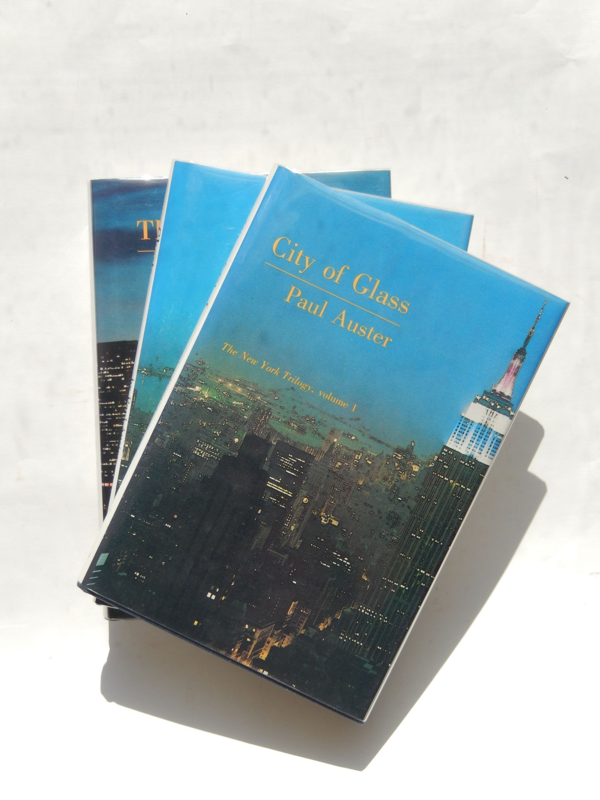 City Of Glass The New York Trilogy