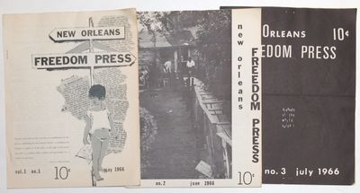 New Orleans: the newsletter, 1966. First three issues of the short-lived newsletter (publication cea...