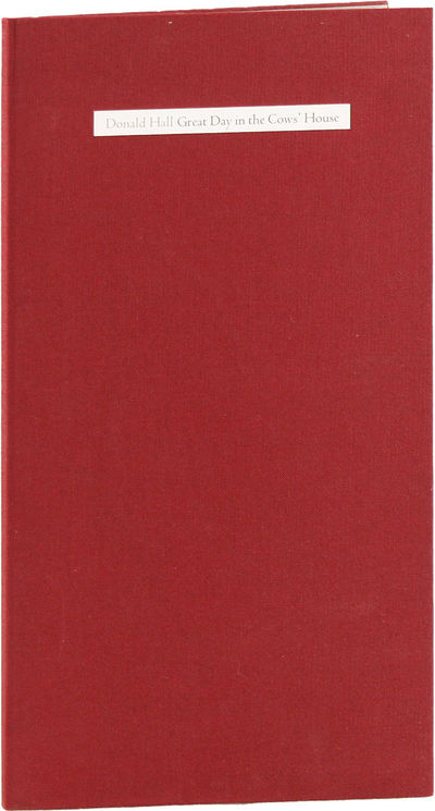 Mt. Carmel, CT: Ives Street Press, 1984. First Edition. One of 130 numbered copies signed by the aut...