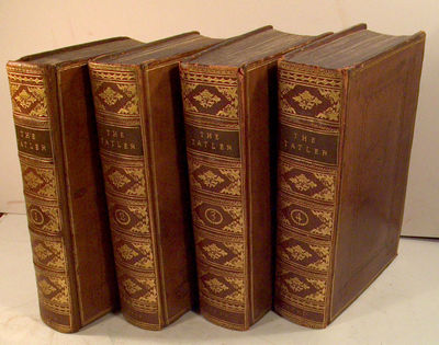 1710. (STEELE, Richard. THE TATLER). THE LUCUBRATIONS OF ISAAC BICKERSTAFF ESQ. London, Charles Lill...