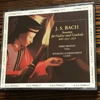 Biondi; Alessandrini / Bach: Sonaten fur Violine und Cembalo, BWV 1014-1019 (Sonatas for Violin & Harpsichord)