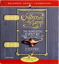 image of The Akhenaten Adventure (Children of the Lamp) (CD)