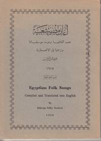 image of Egyptian Folk Songs Compiled and Translated Into English