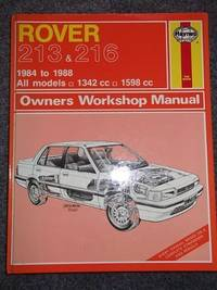 Rover 213 and 216 1984-88 Owner's Workshop Manual