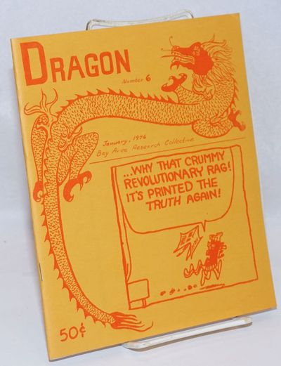 Berkeley: Bay Area Research Collective, 1976. Magazine. 41p., 7x8.5 inches, illus., mimeographed, st...