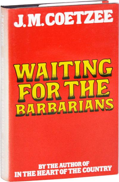 Johannesburg: Ravan Press, 1981. First South African Edition. First Impression, cloth issue. Octavo ...