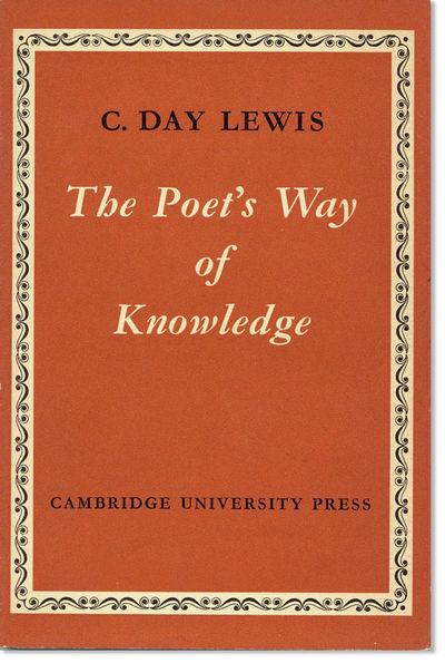 Cambridge: University Press, 1957. First Edition. 12mo (19cm.); original boards in brick decorative ...