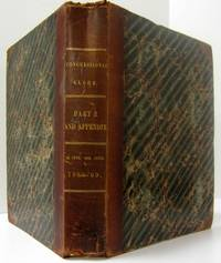 image of THE CONGRESSIONAL GLOBE AND APPENDIX (1869)  The Debates & Proceedings of  the Third Session Fortieth Congress