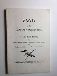 Birds of the of the Detroit-Windsor Area A Ten - Year Survey