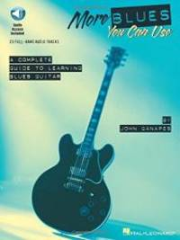 More Blues You Can Use Book & Online Audio