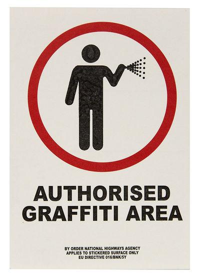 Authorised Graffitti Area.