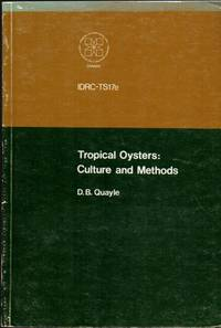 Tropical Oysters: Culture and Methods: IDRC-TS17e