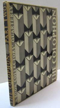 The Colophon; A Book Collections Quarterly PART TWO