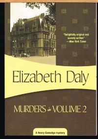 MURDERS IN VOLUME 2; Henry Gamadge, Book 3