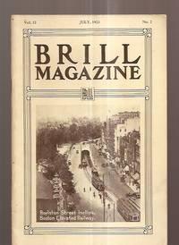 image of BRILL MAGAZINE JULY 1923 VOL. 12 NO. 2