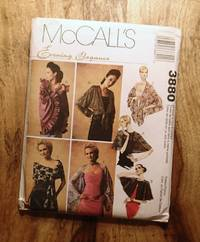 image of McCALL'S SEWING PATTERN: #3880 : EVENING ELEGANCE : Misses Wraps