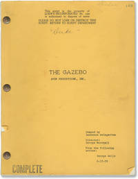 The Gazebo (Original screenplay for the 1959 film)