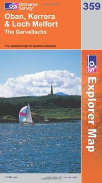 image of Oban, Kerrera and Loch Melfort (OS Explorer Map Series)
