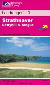 image of Strathnaver, Bettyhill and Tongue (Landranger Maps)