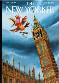 image of NEW YORKER: COVER BIG BEN (BREXIT) by MARK ULRIKSEN