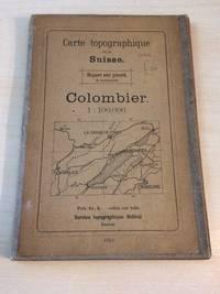 image of Carte Topographique de la Suisse: Colombier. 1 : 100,000