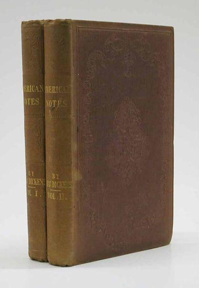 London: Chapman & Hall, 1842. 1st edition, 1st state (Smith II, 3). Original publisher's reddish-bro...
