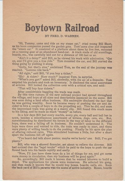 Chicago: Women's National Committee of the Socialist Party / Party Builder. Handbill. Single leaf fo...