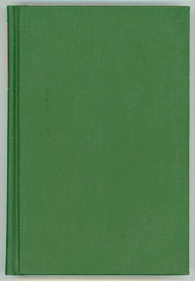 Boston: Gregg Press, 1977. Octavo, cloth. First U.S. hardcover edition, first printing. Text offset ...