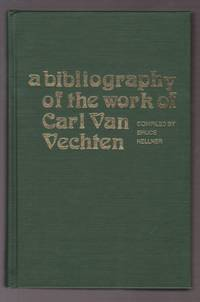 A Bibliography of the Work of Carl Van Vechten
