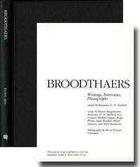 Broodthaers: writings, interviews, photographs