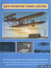 Een immense vogel gelijk: het eerste gemotoriseerde vliegtuig boven Nederland