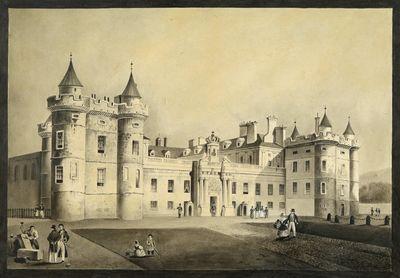 Holyrood Palace, Edinburgh (Scotland).