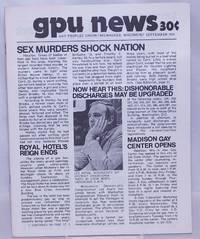 image of GPU News [vol. 2, #12] September 1973: Sex Murders Shock Nation
