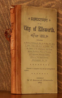 image of DIRECTORY OF THE BOOMING CITY OF ELLSWORTH MAINE WITH A HISTORY OF ELLSWORTH AND GREEN LAKE
