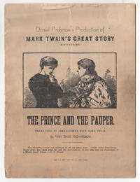 Daniel Frohman's Production of Mark Twain's Great Story Entitled The Prince and the Pauper....