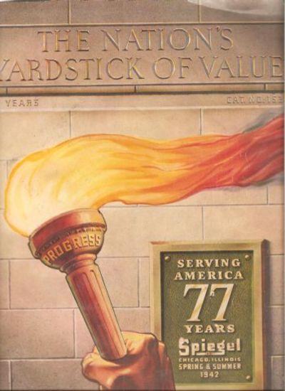 spiegel catalog 1942 the nation 39 s yardstick of value by spiegels paperback 1942 from. Black Bedroom Furniture Sets. Home Design Ideas