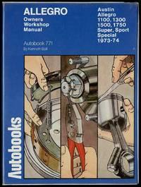 image of Austin Allegro 1973-74 Autobook Owners Workshop Manual