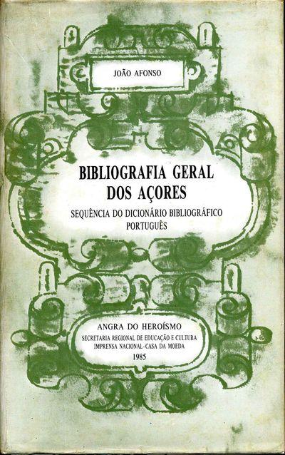 Lisboa, Portugal: Angra do Heroismo, 1985. Book. Very good+ condition. Hardcover. First Edition. Oct...