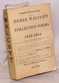 Collected Poems 1948-1984 [uncorrected page proof]