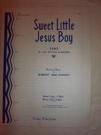 Sweet Little Jesus Boy (Low Voice in D Major)