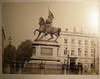 View Image 1 of 4 for Circa 1890 Large Format Photograph Place Royale, Equestrian Statue of Godfrey of Bouillon & Front of... Inventory #25407
