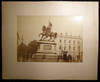 View Image 2 of 4 for Circa 1890 Large Format Photograph Place Royale, Equestrian Statue of Godfrey of Bouillon & Front of... Inventory #25407