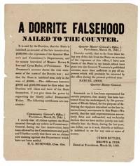 A Dorrite falsehood nailed to the counter