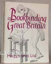 London: Maggs Bros, 1975. stiff paper wrappers. Bookbinding. tall 8vo. stiff paper wrappers. 292 pag...