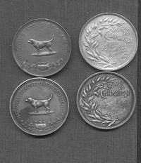 Set of  four engraved championship dog medals, awarded by the American Kennel Club and the National Beagle Club of America, ca. 1915