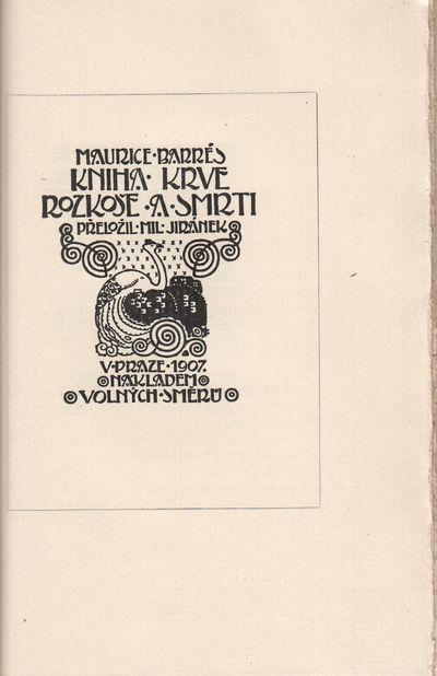 Typograf o knihách [The typographer...