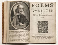POEMS: Written by Wil. Shake-speare, Gent.