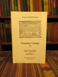 Virginia Publick Claims: Fauquier County